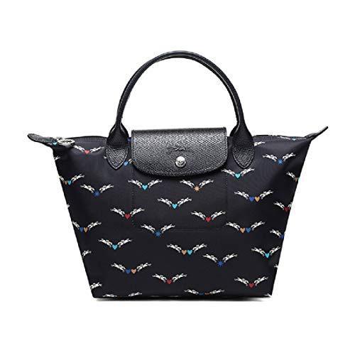 70周年限量款,Longchamp 珑骧 Le Pliage系列 天马星空短柄小号手提包饺子包417.05元包邮包税(额外95折)