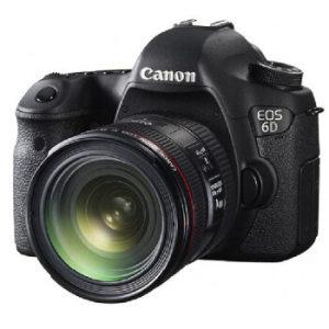 Canon 佳能 EOS 6D(EF 24-70mm f/4L)全画幅单反相机套机 8899元包邮(需用券)