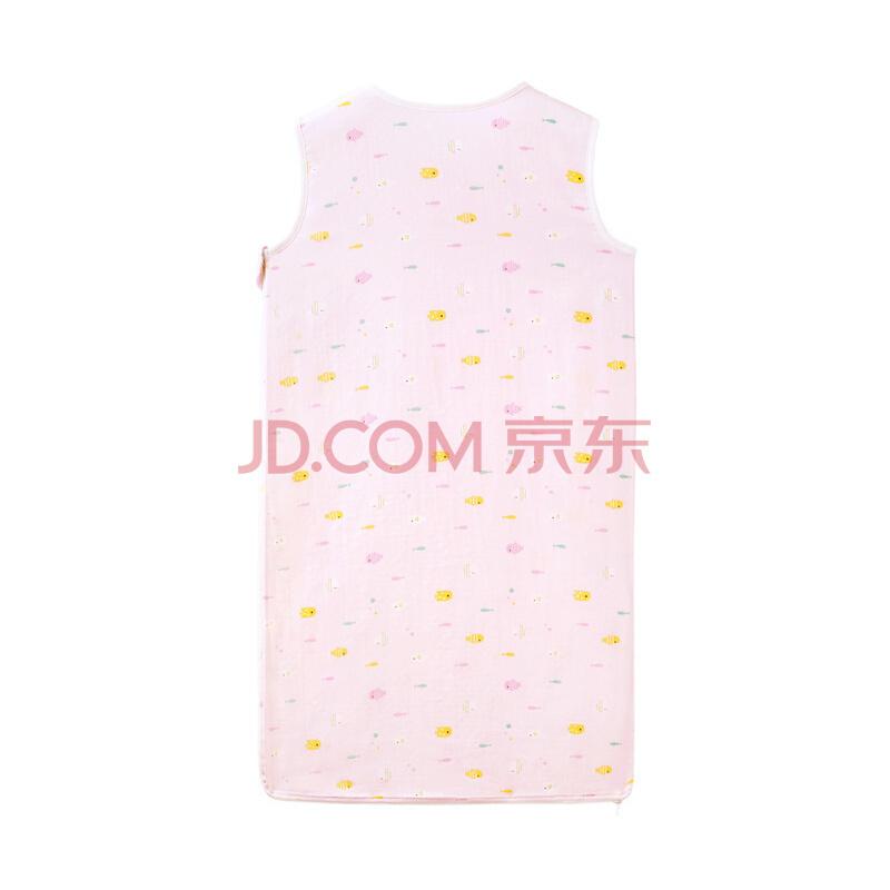 全棉时代 婴儿双层纱布背心睡袋 48*80cm 低至96.95元(3件7折)