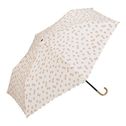 ¥102.62 w.p.c 遮光防晒折叠轻量晴雨伞 粉色爱心