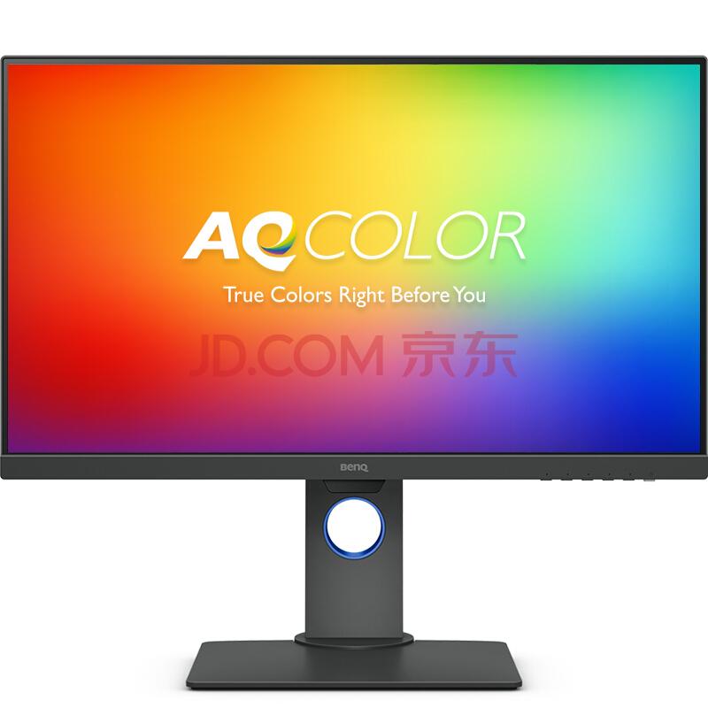 ¥3459 明基(BenQ)PD2700U 27英寸4K超高清 三边窄边框HDR 旋转升降壁挂IPS屏 智慧调光爱眼99%sRGB电脑显示器