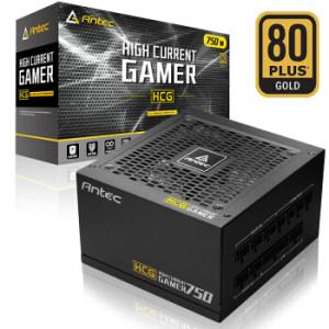 Antec 安钛克 HCG750 额定750W 电源 (80PLUS金牌、全模组) 699元包邮