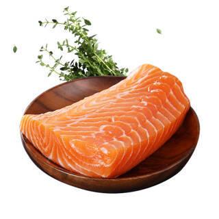 巴鲜岛 挪威进口冰鲜三文鱼 中段整块 净肉400g *3件 159.52元包邮(双重优惠)
