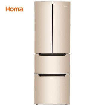 ¥1458 Homa 奥马 BCD-285KI 多门冰箱 285升