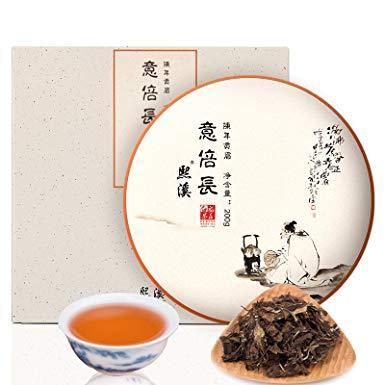 59元 熙溪 福鼎白茶 2012年陈年贡眉老白茶茶叶200g 买2饼送手提袋