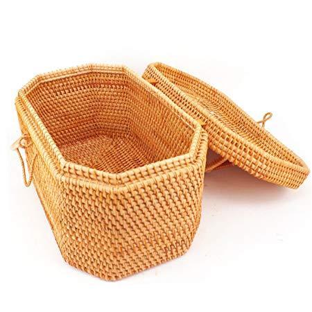越南藤编茶叶罐复古茶具收纳筐普洱茶饼茶叶盒茶砖散茶茶叶箱 199元