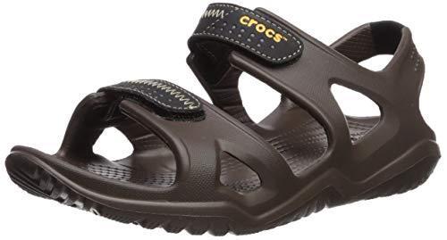 ¥93.97 Crocs 卡骆驰 男式 swiftwater RIVER M 渔夫儿童拖鞋