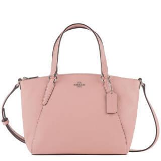 蔻驰(COACH) 奢侈品 女士粉色皮质手提肩背斜挎包 F28994 SVET *3件+凑单品 2019元(合673元/件)