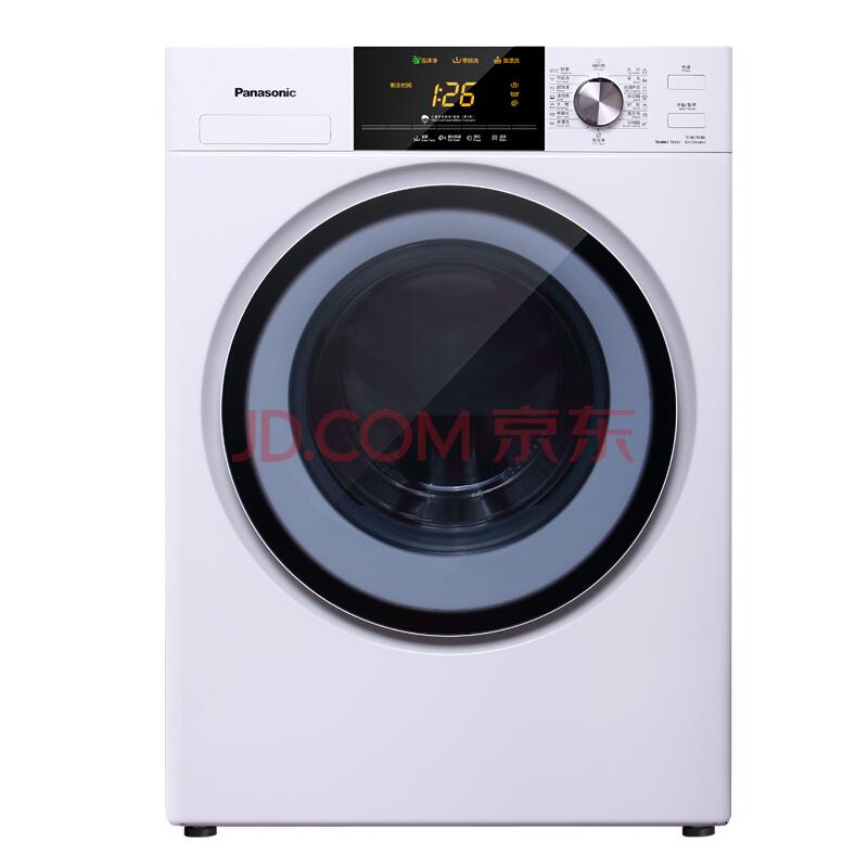 10日0点、618预告: Panasonic 松下 XQG80-NHEBL 滚筒洗衣机 8公斤 2298元包邮