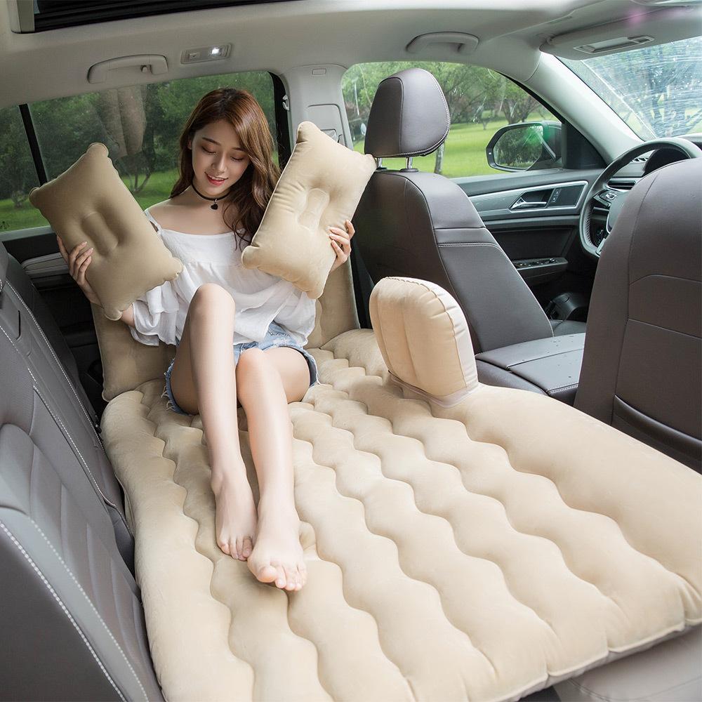 车载充气床垫成人后排汽车用品轿车SUV旅行床垫睡垫车上睡觉神器 10.1元