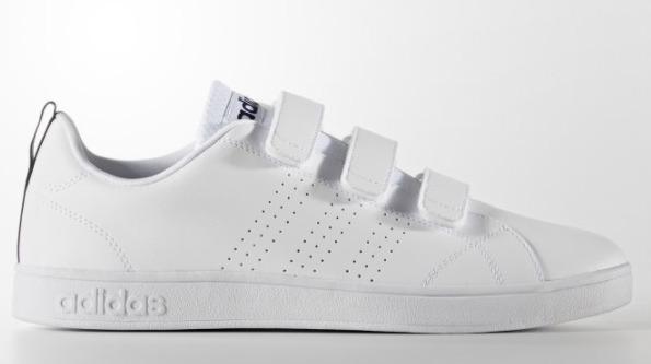 ¥195.75 adidas 阿迪达斯 Neo Vs Advantage Clean 魔术贴休闲鞋