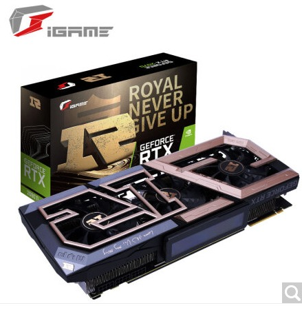 ¥9899 COLORFUL 七彩虹 iGame GeForce RTX 2080Ti RNG Edition 显卡