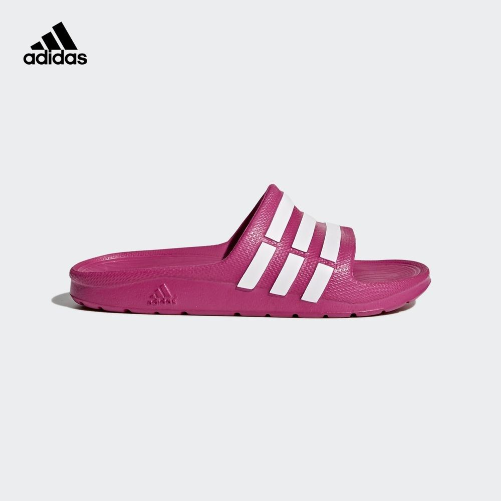 阿迪达斯官方adidas DURAMO SLIDE K 小童游泳拖鞋G06797G06799 70元