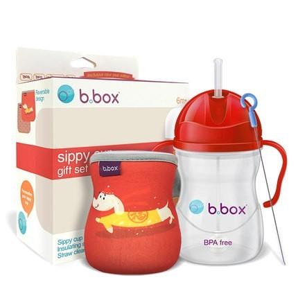 b.box 宝宝吸管杯+杯套+杯刷套装 限定冬季礼盒 79元包邮 ¥79