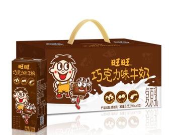 旺旺 巧克力牛奶 190ml*12 *2件 49.6元包邮(下单立减,合24.8元/件)