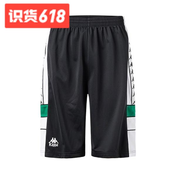 Kappa Banda串标男款运动短裤 狂欢节319