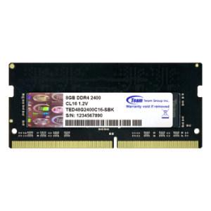 10日:Team 十铨 DDR4 2400 笔记本内存 8G 208元