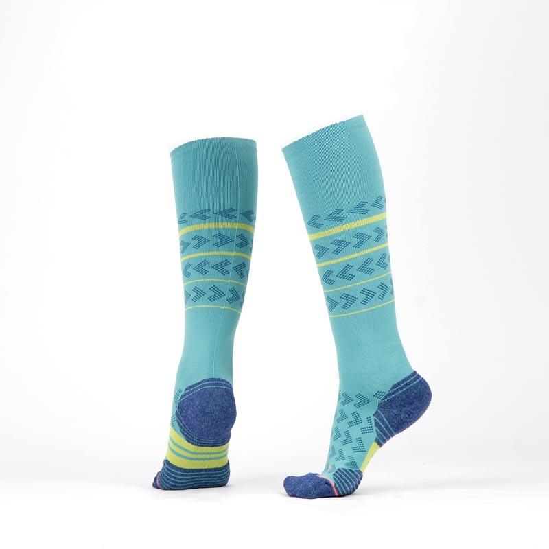 马拉松压缩袜机能长筒骑行小腿袜登山速干跑步袜子男女户外运动袜 *3件 111.15元(合37.05元/件)