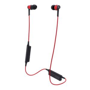 audio-technica 铁三角 CKR35BT 蓝牙入耳式耳机 红色 318元包邮