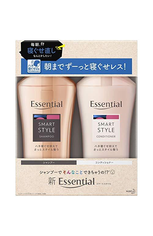 kao 花王 Essential 智感造型 洗护套装(洗480ml+护480ml) 62.58元