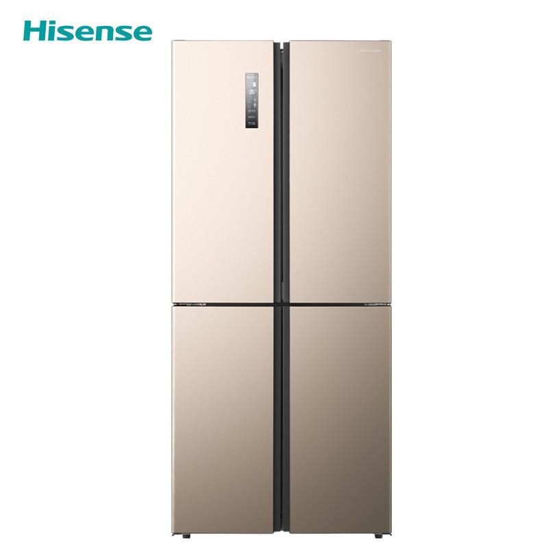 海信BCD-416WMK1DPT十字对开门四门电冰箱变频风冷无霜家用 2499元
