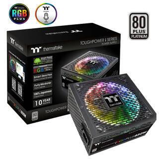 Tt(Thermaltake)额定850W TPI RGB PLUS 850W电源(白金认证/全模数位/日系电容/RGB PLUS风扇/十年质保) 1409元