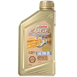 嘉实多(Castrol) EDGE 极护 长效EP 5W-20 A1/B1 SN 全合成机油 1Qt 美国原装进口 *10件 489.86元(合48.99元/件)