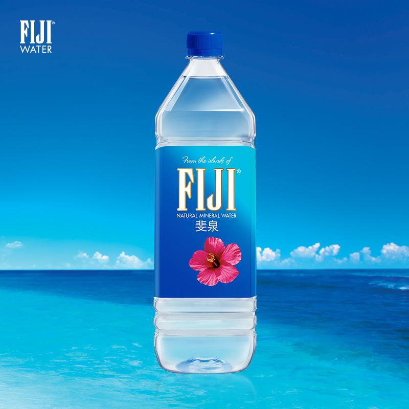 ¥200包邮 16日0点:FIJI 斐济 天然矿泉水 1.5L*12瓶