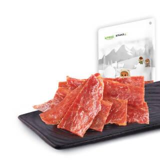 三只松鼠肉干肉脯休闲零食特产小吃靖江风味猪肉脯自然片150g/袋 *11件 114元(需用券,合10.36元/件)