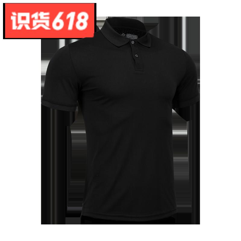 准者 运动POLO衫 Z119112001 黑 聚划算活动价79元