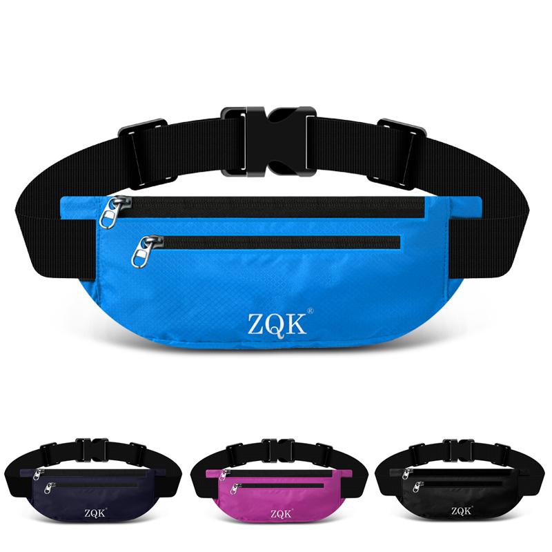 ¥19.6包邮 运动腰包多功能跑步男女手机腰带超薄旅行隐形户外装备包防水时尚