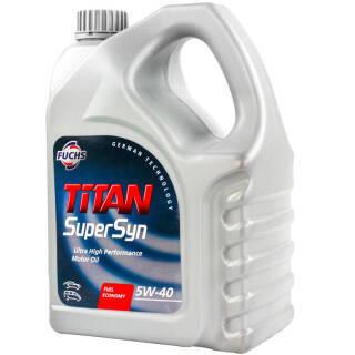 FUCHS 福斯 泰坦超级全合成机油 5W-40 SN级 4L 189元