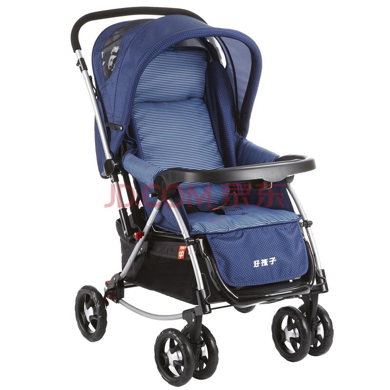 ¥279 历史低价: gb 好孩子 A513-B 婴儿推车 蓝色