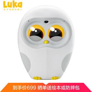 物灵(Ling)卢卡Luka猫头鹰绘本阅读机器人 绘本故事阅读 伴读早教教育 亲子互动 儿童智能机器人 699元