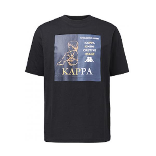 Kappa卡帕 情侣款运动印花短袖T恤 活动价129