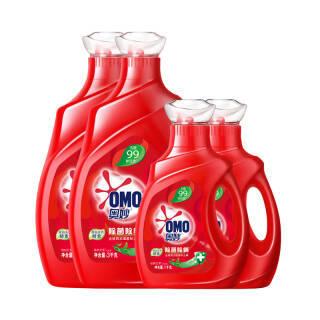 奥妙 洗衣液 16斤超值除菌除螨套装(3kg×2+1kg×2) 源自天然酵素(新老包装随机发货) *2件 97.62元(合48.81元/件)