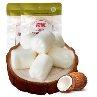 海南特产 南国(nanguo)椰珍椰奶软质糖 零食糖果150g*2袋 *9件 84.2元(合9.36元/件)