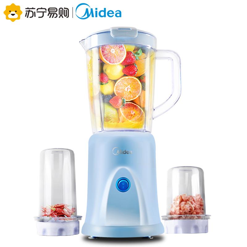 Midea/美的 MJ-BL25B36正品家用料理机多功能婴儿辅食豆浆果汁机 89元