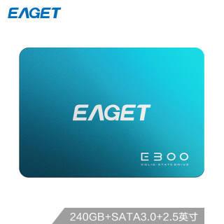 EAGET 忆捷 E300系列 SATA3 固态硬盘 240GB 178元