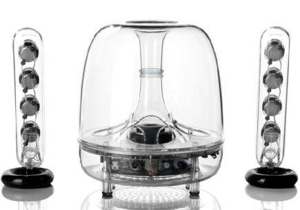 ¥719.1 Harman Kardon 哈曼卡顿 SoundSticks III 水晶3代 音箱