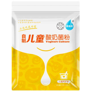 佰生优(儿童养护型)自制儿童酸奶菌粉15g 酸奶发酵剂 乳酸菌酸奶粉 *8件 107.2元(合13.4元/件)