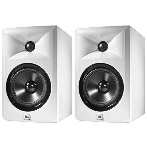 JBL LSR305 强力监听音箱 2个套装LSR305-WH prime会员到手约1300元