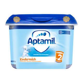 德国进口 德国爱他美 儿童配方奶粉 2+段 800g/罐 安心罐 120元