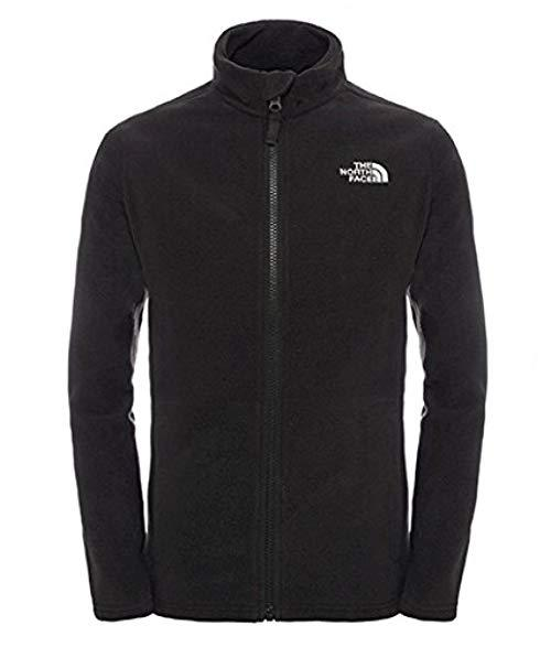The North Face Youth Snow Quest 全拉链回收羊毛夹克 118.22元