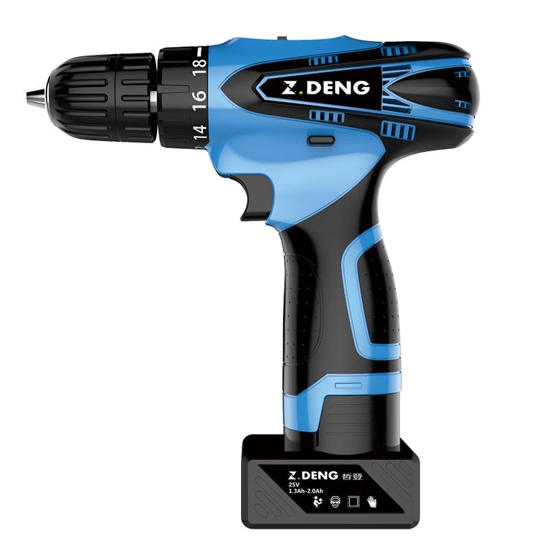 哲登12V锂电钻充电式手钻小手枪钻电钻多功能家用电转电动螺丝刀 28元