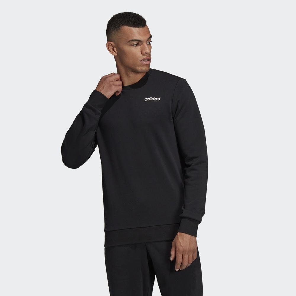 阿迪达斯官方E PLN CREW FT男运动型格套头衫DU0395DU0390 197元