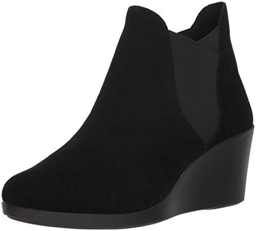 Crocs 女士 Leigh 坡跟 Chelsea W 雨靴 123.71 元