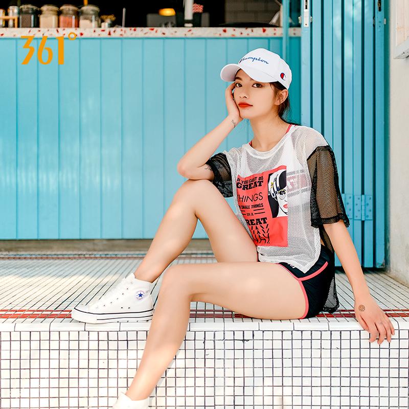 361度分体裙式游泳衣女保守小胸聚拢性感显瘦三件套温泉泳装韩国 115元