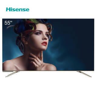 海信(Hisense) HZ55E60D 55英寸 AI声控 3GB 32GB 超薄全面屏 MEMC防抖 高配超薄 全面屏电视机 3999元