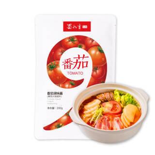 蜀九香番茄火锅底料 200g *5件 49元(合9.8元/件)